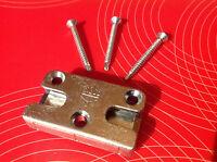 3 Schrauben Schließstück MACO 96481B  96482 Sicherheits-Schließblech Veka inkl