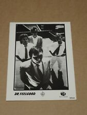 Dr. Feelgood 8 x 6 1987 Stiff Records Photocard