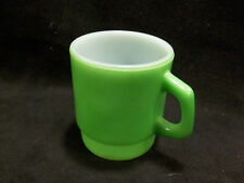 Anchor Hocking Oven-Proof Stackable Mug Green