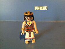 (L240) Playmobil série égypte cléopatre ref 4243 4242 4240 4241