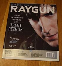 Nine Inch Nails Trent Reznor Ray Gun Magazine #74 December 1999 Ice Cube Gomez