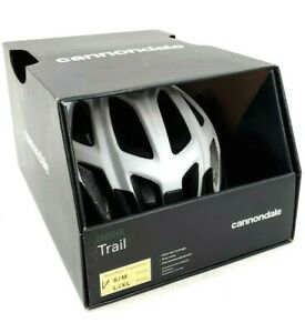 Cannondale Trail Adult Cycling Helmet White Small/Medium