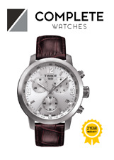 Tissot Analog Sport Watch PRC 200 Chronograph Brown Mens T0554171603700