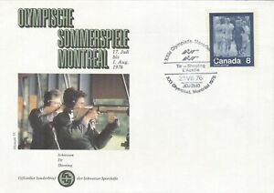 Canada 1976 Olympic Games Montreal cancel Shooting
