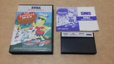The Simpsons Bart vs Space Mutants (Sega Master System) version européenne PAL