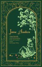 Jane Austen: Four Novels [Leather-bound Classics]