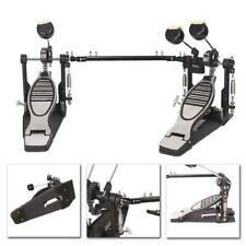 New Professional Double Bass Drum Pedal Twin Kick Drum Pedal Dual Chain