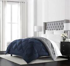 Comforter Reversible Goose Down Alternative Luxury Hypoallergenic Cal King Size