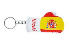 Keychain Mini boxing gloves key chain ring flag key ring cute spain spanish