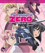 The Familiar Of Zero . Season 2 . Knight Of The Twin Moons . Anime . Blu-ray NEU