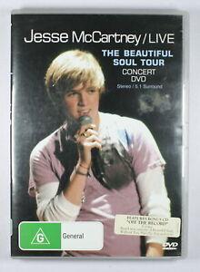 Jesse McCartney LIVE The Beautiful Soul Tour DVD and Bonus Music CD TRACKED POST
