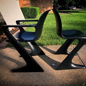 Vintage Ernst Moeckl Kangaroo Chair Z Chair Mid-century Modern