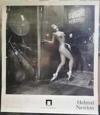 Helmut Newton poster of italian exhibition, 1994. 70x80 cm