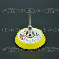"""Abrasives 2"""" Hook&Loop Backer Plate For SandPaper Buffer Pads 3mm Shank"""