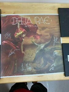 Delta Rae Music Group Autographed Poster by the Members