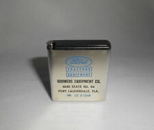 Stanley Advertising Tape Measure Ford Tractor Equipment Fort Lauderdale FL 1950s