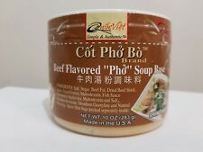"Quoc Viet Foods Beef Flavored ""PHO"" Soup Base, 10 oz. Jar, 1 Unit Free Shipping"