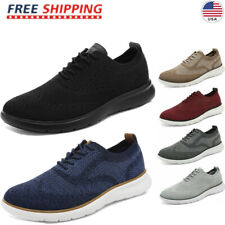 Bruno Marc Men's Breathable Lace up Sneakers Walking Casual Athletic Shoes US