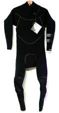 HURLEY Men's 4/3 ADVANTAGE MAX Zip Free Wetsuit - Black - XL - NWT