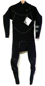 HURLEY Men's 4/3 ADVANTAGE MAX Zip Free Wetsuit - Black - Small - NWT   LAST ONE