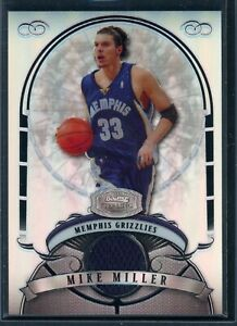 2007-08 Bowman Sterling Refractors #MM Mike Miller Jersey /199