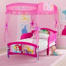 New Disney Princess Canopy Toddler Bed - Pink Model:1765FD0D