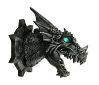 Nemesis Now - LIGHT UP EYES DRAGON HEAD GOTHIC WALL PLAQUE - Ferox