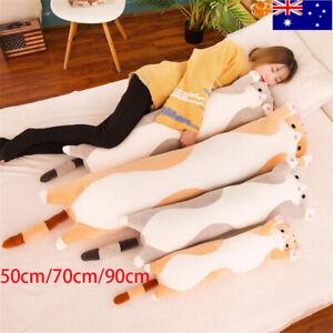 Soft Cute Plush Cat Doll Stuffed Kitten Pillow cushion Toy Kids Girlfriend Gift