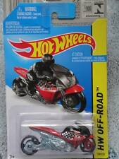 Hot Wheels 2014 #130/250 RUE NOZ noir rouge HW Lot H Long Carte