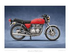 """Honda CB400 Four (1975) - Limited Edition Art Print 20""""x16"""" by Steve Dunn"""