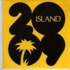 (DE431) Island 2009 sampler, 6 tracks various artists - 2009 DJ CD