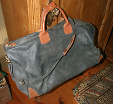 Brics Gray/Olive/Brown..ish Carry-On Shoulder Duffel Travel Bag Tote