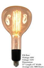 60W E26 OVERSIZED Antique Edison Filament Light Bulb Lamp Vintage Nostalgic Big