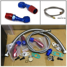 Oil Feed Line Return Drain Line Kit For Turbo Charger T3 T4 T3/T4 T70 T66 TO4E