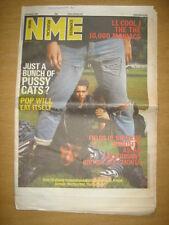 NME 1987 OCT 3 POP WILL EAT ITSELF LL COOL J RAMONES
