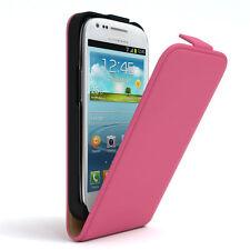 Tasche für Samsung Galaxy S3 Mini Flip Case Schutz Hülle Handy Cover Pink