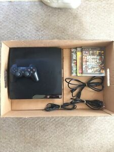 PlayStation 3 Slim Console, + Accessories & 3 Games!