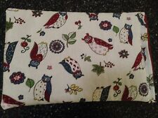 Happy Owls Microwave WHEAT HEAT BAG HOT Or COLD Wheat Heat Packs 100% Cotton.