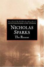 "The Rescue by Nicholas Sparks (2000, Hardcover) ""FIRST PRINTING & FIRST EDITION"""