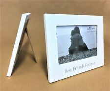 Best Friends Forever White Photo Frame - Holds 10 X 15cm Photo