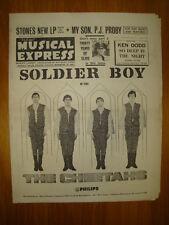 NME #939 1965 JAN 8 CHEETAHS ROLLING STONES P J PROBY