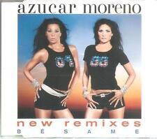 AZUCAR MORENO - BESAME NEW REMIXES CD SINGLE 5 TRACKS RARO 2001 SPAIN