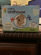 Toysmith Build & Paint A Bird House, Kit Includes Everything You Need! #2953