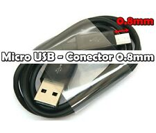 Cable Micro USB Conector largo 0.8mm Cable USB Clavija larga Samsung LG Sony