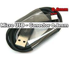 Cable Micro USB Conector largo 0.8mm Cable USB Clavija larga Samsung LG Sony