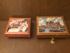 Lot of Two Musical Boxes