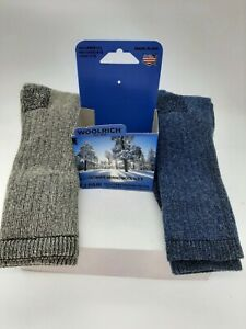 WOOLRICH ULTIMATE MERINO WOOL SOCK 2 PACK