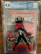 Marvel Super Heroes Secret Wars 8 Newsstand CGC 9.8 White Pages 1984