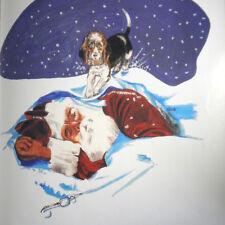The Doggonest Christmas Dog Saves Santa Holiday Rescue Mutt Children Book VTG HC