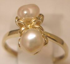 3044aa0e8 Freshwater Cultured Fine Pearl Rings for sale | eBay